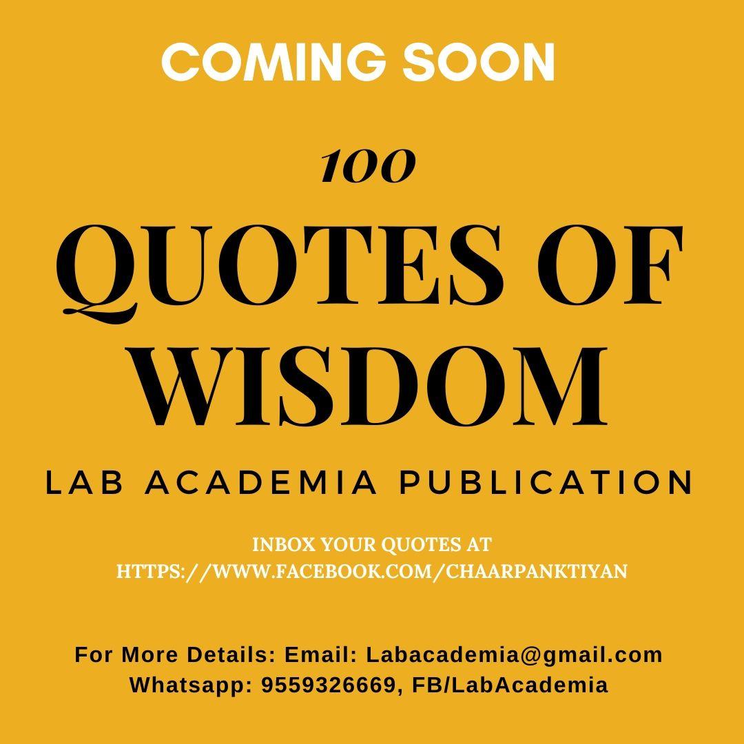 100 Quotes Of Wisdom Motivate India Society